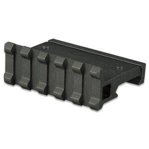 """Lion Gears AR-15 Tactical Angle Mount 90° 5 Slots 2.16"""" Long Aluminum Black BM05D90"""