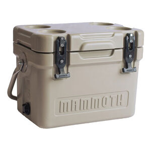 Mammoth Coolers Cruiser 15 Dry Ice Capable 12 qt Tan