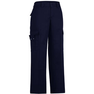 Dickies Women's Flex Comfort Waist EMT Pant Size 22 Unhemmed Inseam Midnight Blue FPW2377MD