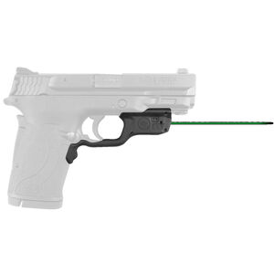 Crimson Trace LG-459G Green LaserGuard For S&W M&P380EZ/M&P22 Compact Models Front Activation Polymer Housing Matte Black