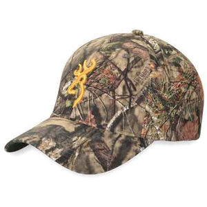 Browning Rimfire Cap Gold Buckmark Velcro Adjustment One Size Mossy Oak Break-Up Country 308379281