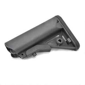 B5 Systems Enhanced SOPMOD AR-15 Stock Mil-Spec Polymer Black SOP-1074