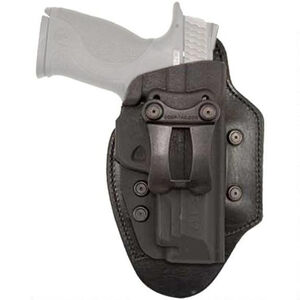 Comp-Tac Infidel Ultra Max Holster S&W M&P Shield 9mm/.40 IWB Hybrid Right Handed Leather/Kydex Black