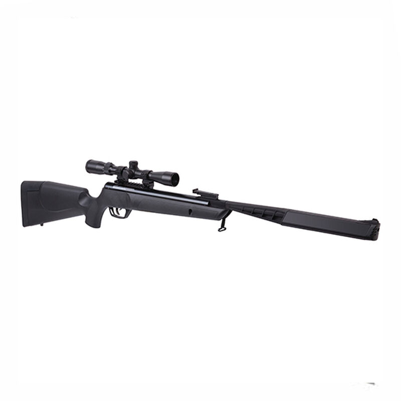 Benjamin Sheridan Rogue Nitro Piston 2 Powered Break Barrel Air Rifle .22 Caliber 1100 fps Synthetic Stock with 3-9x32mm Scope Black