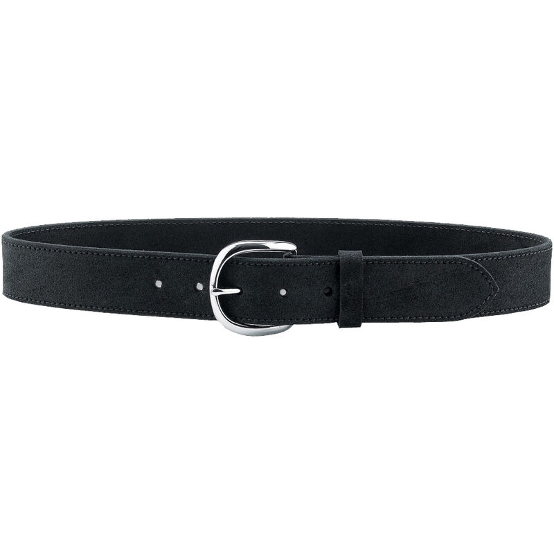 "Galco Gunleather CLB5 Carry Light Belt 1.5"" Wide Nickel Plated Brass Buckle Leather Size 42 Black CLB5-42B"