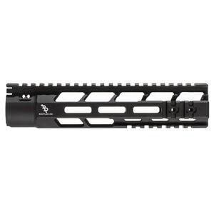 "Bootleg PicLok AR-15 9"" One Piece Free Float Hand Guard Full Length Mil-Spec Picatinny Top Rail 6061 Aluminum Hard Coat Anodized Matte Black Finish"