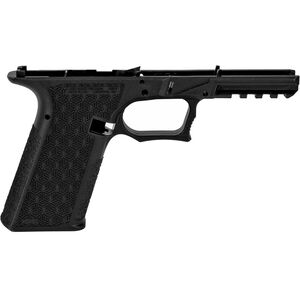Grey Ghost Precision Combat Pistol Frame Full Sized/Standard GLOCK 17 Gen 3 Style Serialized Stripped Pistol Frame Black