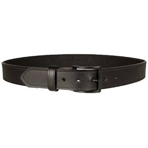 "DeSantis Econo Belt 1.5"" Width Size 46"" Bonded Leather Powder Coated Buckle Black E25BJ46Z3"