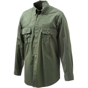 Beretta Special Purchase Men's Shooting Shirt Long Sleeve 2XL Green