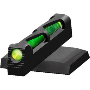 HiViz LITEWAVE Ruger American Pistol Fiber Optic Front Sight Red/Green/White Steel Black