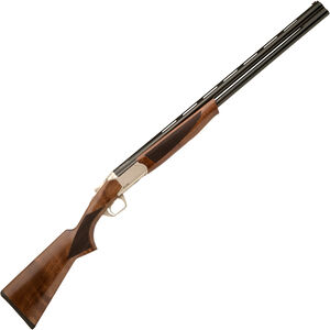 "TR Silver Eagle Light Super O/U Break Action Shotgun 12 Gauge 28"" Barrels 3"" Chamber 2 Rounds Walnut Stock Coin Silver/Black Finish"