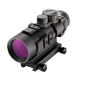 Burris AR-536 AR-15 Fixed 5x36mm Prism Sight Ballistic AR Reticle CR2032 Battery 1/3 MOA Adjustments Aluminum Housing Matte Black Finish