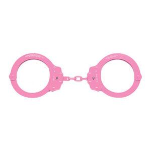 Oversize  Chain Hand Cuff Pink