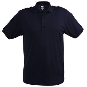 Elbeco UFX Ultra Light Men's Short Sleeve Polo Medium 100% Polyester Swiss Pique Knit Midnight Navy