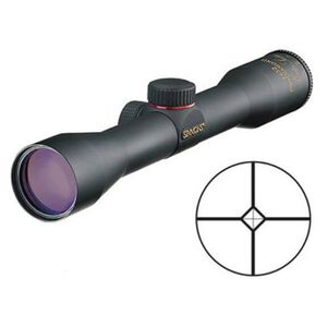 "Simmons ProHunter 4x32 Shotgun Scope ProDiamond Reticle 1"" Tube 1/2 MOA Matte Black Finish"