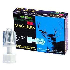 "Brenneke USA Magnum 20 Gauge Slug 3"" 1 Ounce 5 Rounds"