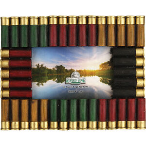 """River's Edge Products Shotshell Picture Frame 4""""x6"""""""