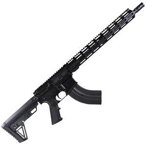 "I.O. Inc M215 AR-15 Semi Auto Rifle 7.62x39 16"" Barrel 30 Rounds Free Float M-LOK Hand Guard Hard Coat Anodized Matte Black Finish"
