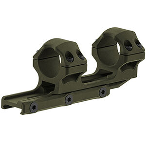 "UTG ACCU-SYNC 1"" Medium Profile 34mm Offset Pic. Rings, OD Green"