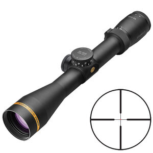 Leupold VX-5HD 2-10x42 Rifle Scope Illuminated FireDot Duplex Reticle 30mm Tube .25 MOA Adjustment Second Focal Plane Matte Black Finish