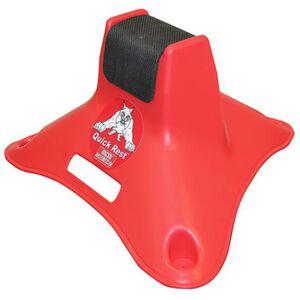 MTM Case-Gard Shooting Quick Rest Polymer Red QR30