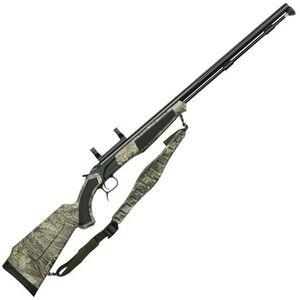 "CVA Accura PR Break Action Black Powder Rifle .50 Caliber 28"" Fluted Barrel Dead On Scope Mount RT Max-1 Camo Synthetic Stock Black Nitride Finish"