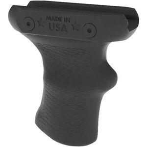 American Built Arms AR-15 SBR V-Grip Vertical Fore Grip Picatinny Attachable Polymer Black