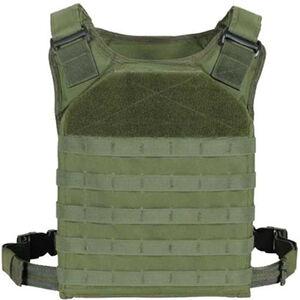 Voodoo Tactical MOLLE Rapid Assault Tactical (RAT) Plate Carrier Vest Nylon OD Green 20-901704000