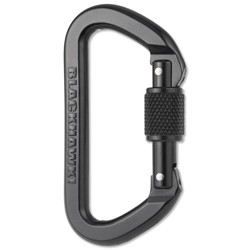 BLACKHAWK! Locking D Aluminum Carabiner