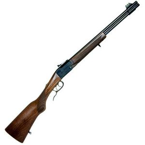 """Chiappa Firearms Double Badger Combined Over/Under Rifle .22LR/.410 Bore 19"""" Barrel 2 Rounds Wood Stock 500.097"""