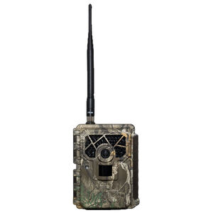 Covert Scouting Cameras Blackhawk LTE 12 MP Camera 12 AA Batteries No Glow IR LEDs Up to 32GB SD Card Polymer Realtree Case