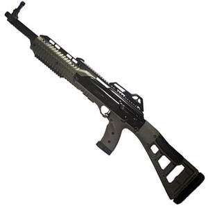 """Hi-Point Carbine Semi Auto Rifle 9mm Luger 16.5"""" Barrel 10 Rounds Polymer Stock OD Green"""
