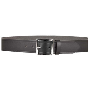 "Desantis Economy Garrison Belt 1.75""  Leather  Black Buckle Size 38 Black E20BJ38Z3"