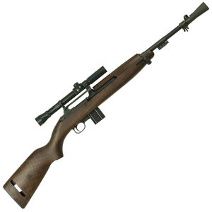 "Inland M1 T30 Sniper Carbine Semi Auto Rifle .30 Carbine 18"" Barrel 10 Rounds Low Wood Stock Black"