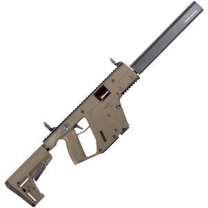 """Kriss USA Kriss Vector Gen II CRB 10mm Auto Semi Auto Rifle 16"""" Barrel 15 Rounds Kriss M4 Stock Adapter/Defiance M4 Stock Flat Dark Earth Finish"""