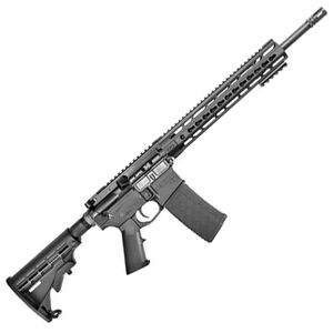 "CORE15 KeyMod Scout AR-15 Semi Auto Rifle 300 AAC 16"" Barrel 30 Rounds 15"" KeyMod Handguard Collapsible Stock Black"