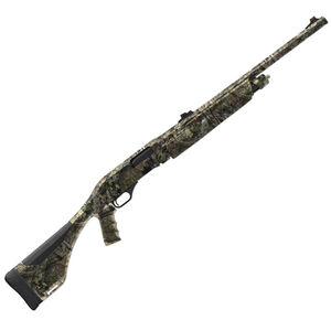 "Winchester SXP Extreme Deer Hunter Pump Action Shotgun 12 Gauge 22"" Rifled Barrel 3"" Chamber 4 Rounds Fiber Optic Sights Synthetic Pistol Grip Stock Mossy Oak Break-Up Country 512313240"