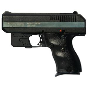 "Hi-Point Semi Auto Pistol .380 ACP 3.5"" Barrel 8 Rounds Polymer Frame Black with Laserlyte Trigger Guard Laser CF380LLTGM"