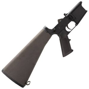 Bushmaster AR-15 Complete Lower Assembly Receiver A2 Stock A2 Grip Marked Multi-Caliber Anodized Black 92958