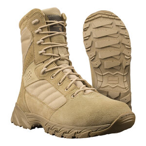 "Original S.W.A.T. Men's Altama Foxhound SR 8"" Tan Boot Size 10 Regular 365802"