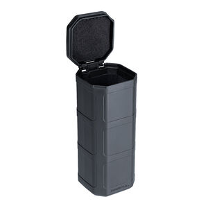 "Magpul DAKA Can 6.4""x2.5""x2.7"" Pocket Sized Storage Container Lined with High Density Foam Rigid Shell Stealth Gray"