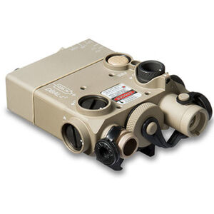 Steiner Dual Beam Aiming Laser Intelligent (DBAL-12) CR 123A Battery Red Laser Desert Sand