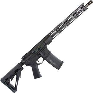 "Diamondback Firearms DB15E300B AR-15 Semi Auto Rifle .300 Blackout 30 Rounds 16"" Barrel Key-Mod Handguard Collapsible Stock Black"