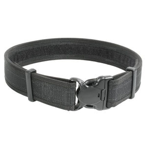 "BLACKHAWK! Reinforced 2"" Duty Belt With Loop Inner Surface Size XX-Large 50"" to 54"" Waist Web Nylon Finish Matte Black"