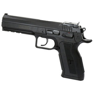 "EAA Witness P Match Pro Semi Automatic Pistol 9mm Luger 4.75"" Barrel 17 Rounds Polymer Competition Frame DA/SA Trigger Fully Adjustable Super Sight Black Finish"