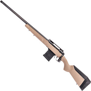 "Savage 110 Tactical Desert Left Handed 6.5 Creedmoor Bolt Action Rifle 24"" Heavy Threaded Barrel 10 Rounds FDE Synthetic Adjustable AccuFit AccuStock Black Finish"
