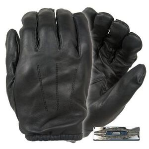 Damascus Protective Gear Frisker K Leather Glove Black