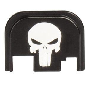CruxOrd GLOCK 43 Back Plate Punisher Aluminum Black