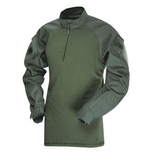 Tru-Spec T.R.U. 1/4 Zip Combat Shirt 65/35 Poly/Cotton Rip-Stop