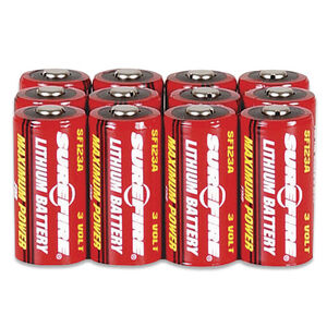 SureFire CR123A Batteries 12 Pack SF12BB
